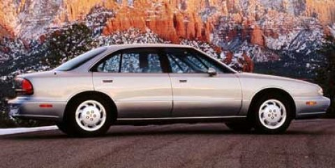 1998 Oldsmobile 88 4dr Sdn LS GOLD Child Safety Locks Cassette