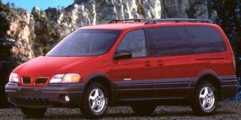 1998 Pontiac Trans Sport 4dr Ext WB MEDIUM RED