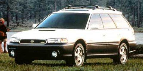 1998 Subaru Legacy Wagon WHITE Cruise Control Child Safety Lock