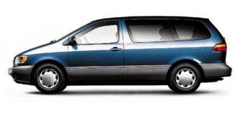 1998 Toyota Sienna 4 Door Passenger Van GREEN