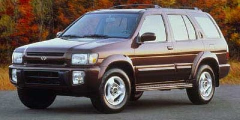 1998 Infiniti QX4 4dr Luxury SUV 4WD GRAY Climate Control