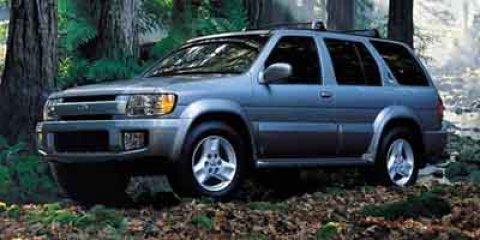 2001 Infiniti QX4 4dr SUV Luxury 4WD Child Safety Locks