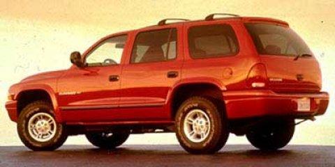 1998 Dodge Durango 4dr 4WD BLACK Front Disc/Rear Drum Brakes