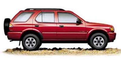 2002 Isuzu Rodeo 4dr LS 3.2L Auto SILVER Cloth Seats