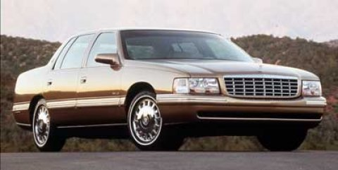 1999 Cadillac Deville 4dr Sdn WHITE Cruise Control
