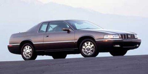 1999 Cadillac Eldorado 2dr Touring Cpe WHITE CD Player Cassette