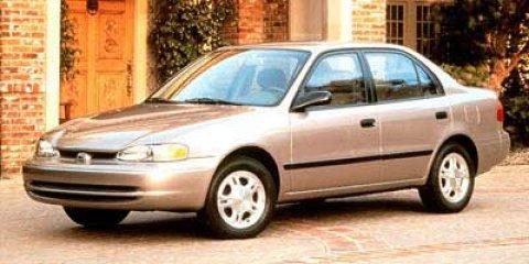 1999 Chevrolet Prizm 4dr Sdn LSi GRAY Floor Mats Driver Air Bag