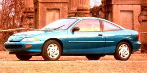 1999 Chevrolet Cavalier 2dr Cpe AQUAMARINE BLUE METALLIC