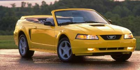 1999 Ford Mustang 2dr Convertible SVT Cobra GREEN
