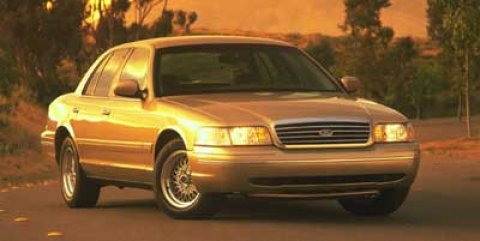 1999 Ford Crown Victoria Police Pkg 4dr Sdn Police Interceptor