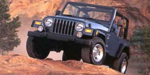 2001 Jeep Wrangler 2dr Sport Power Steering