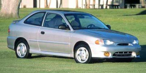 1999 Hyundai Accent WHITE Passenger Air Bag