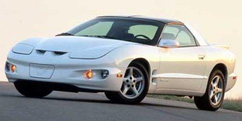 1999 Pontiac Firebird 2dr Cpe Firebird WHITE Cloth Seats