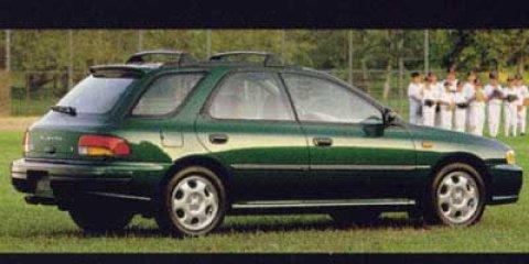 1999 Subaru Impreza Wagon GREEN Luggage Rack Intermittent Wiper