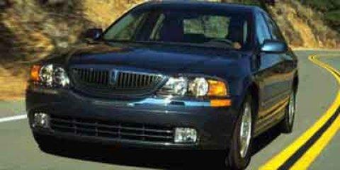 2001 Lincoln LS 4dr Sdn V8 Auto GRAY