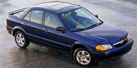 2001 Mazda Protege BEIGE Pass-Through Rear Seat