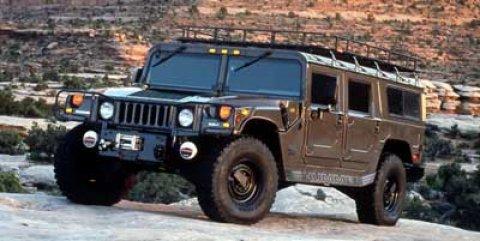 1999 AM General Hummer 4-Passenger Wgn Enclosed BLACK