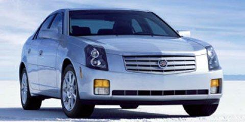 2006 Cadillac CTS 4dr Sdn 3.6L WHITE DIAMOND