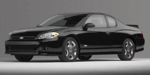 2006 Chevrolet Monte Carlo 2dr Cpe SS BLACK Cloth Seats