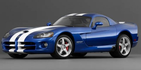 2006 Dodge Viper 2dr Cpe SRT10 BLUE Driver Air Bag CD Player