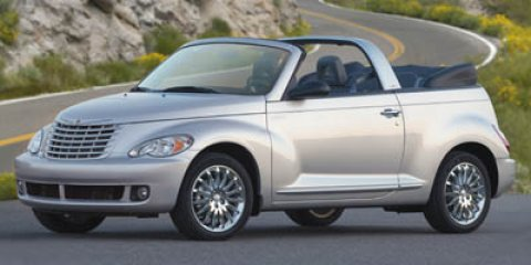 2006 Chrysler PT Cruiser 2dr Convertible Touring GOLD
