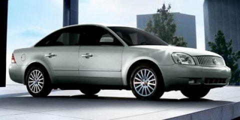 2007 Mercury Montego 4dr Sdn Premier 2WD SATELLITE SILVER