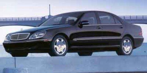 2001 Mercedes-Benz S-Class 4dr Sdn 6.0L DESIGNO MOCHA BLACK