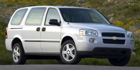 """2007 Chevrolet Uplander Cargo Van 121"""" WB WHITE"""