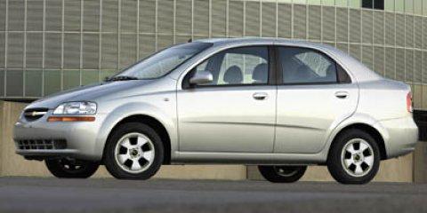 2006 Chevrolet Aveo 4dr Sdn LS SUMMIT WHITE