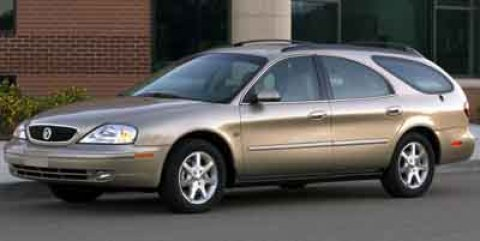 2001 Mercury Sable 4dr Wgn LS Premium Spruce Green Clearcoat
