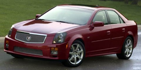 2006 Cadillac CTS-V 4dr Sdn BLACK Cruise Control Climate Contro