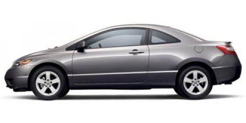 2006 Honda Civic Cpe EX AT HABANERO RED PEARL AM/FM Stereo