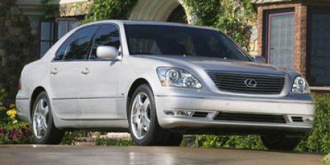 2006 Lexus LS 430 4dr Sdn WHITE Automatic Headlights
