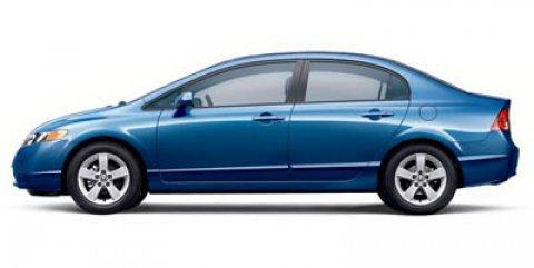 2006 Honda Civic Sdn EX AT BLUE Automatic AM/FM Stereo