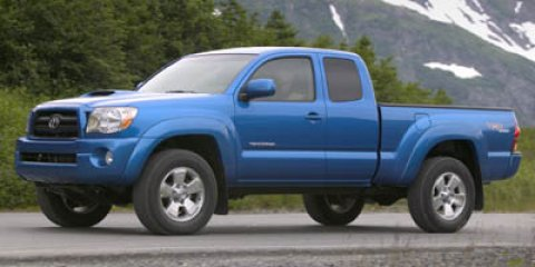 """2006 Toyota Tacoma Access 128"""" Manual 4WD AM/FM/CD w/6 Speakers"""