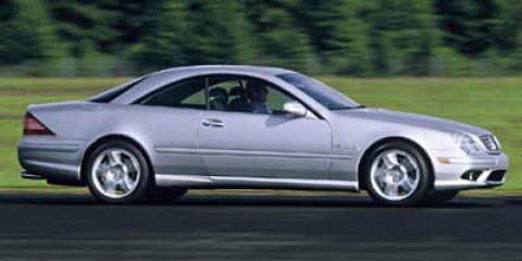 2006 Mercedes-Benz CL-Class 2dr Cpe 5.0L BLACK
