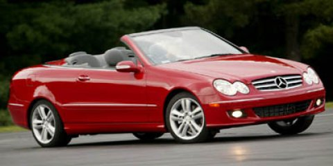 2006 Mercedes-Benz CLK-Class 2dr Cabriolet 3.5L SILVER