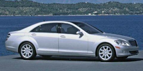 2007 Mercedes-Benz S-Class 4dr Sdn 5.5L V12 RWD IRIDIUM SILVER