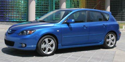 2006 Mazda MAZDA3 5dr Wgn s Manual BLACK MICA CD Player
