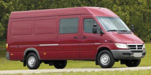 "2006 Dodge Sprinter 3500 SHC 158"" WB WHITE Dual Rear Wheels"