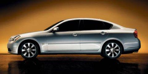 2006 Infiniti M35 4dr Sdn AWD CD Changer Bucket Seats