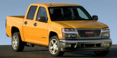 "2006 GMC Canyon Crew Cab 126.0"" WB 4WD SLE1 SUPERIOR BLUE"