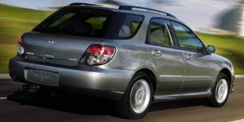 2006 Subaru Impreza Wagon 2.5 i Manual REGAL BLUE PEARL