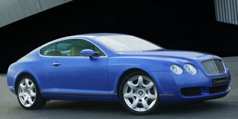 2005 Bentley Continental 2dr Cpe GT BLUE CD Changer Bucket Seat