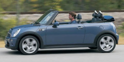 2006 MINI Cooper Convertible 2dr Convertible S RED