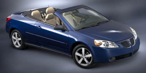 2007 Pontiac G6 2dr Convertible GT BLUE-GOLD CRYSTAL METALLIC