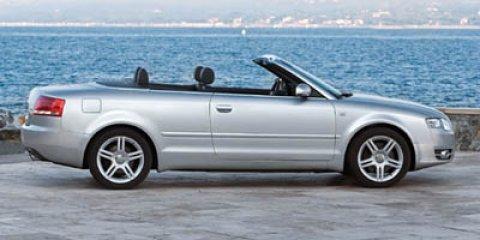 2007 Audi A4 2007 2dr Cabrio CVT 2.0T FrontTrak