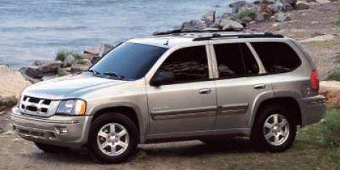 2006 Isuzu Ascender 4dr 2WD S BLACK Conventional Spare Tire