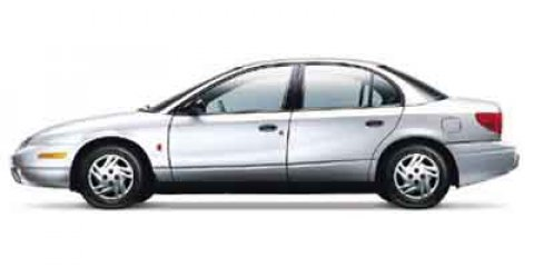 2002 Saturn SL SL1 Auto CRANBERRY Front Disc/Rear Drum Brakes