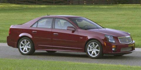 2007 Cadillac CTS-V 4dr Sdn BLACK RAVEN Audio memory